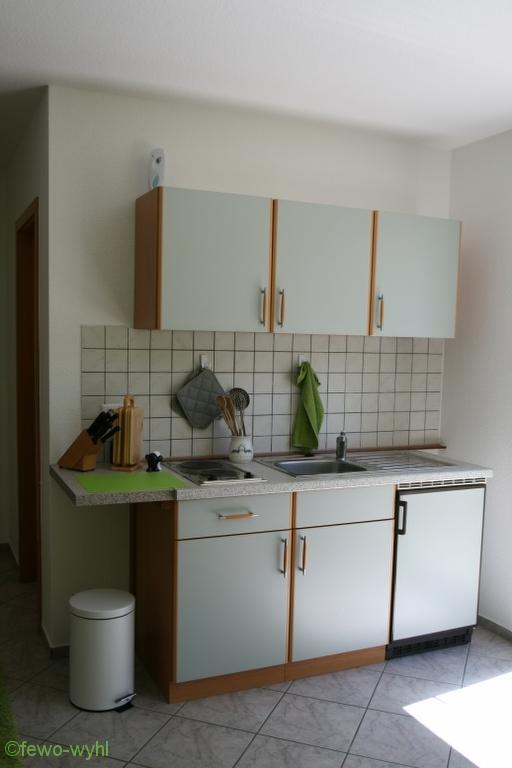 die Küche in der fewo-wyhl.de