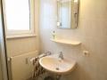 Bad und WC in der Ferienwohnung